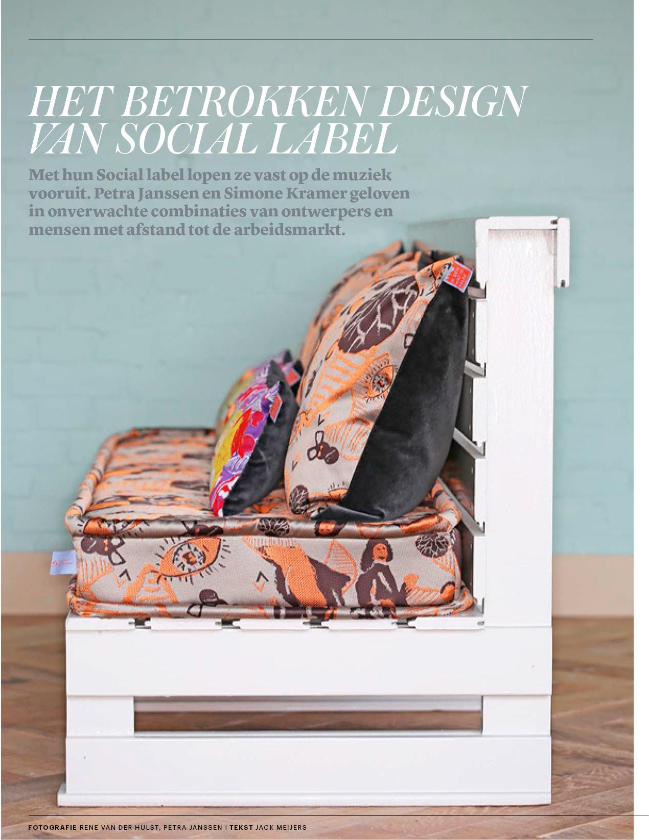 social label - Het verhaal in Eigen Huis & Interieur - social label